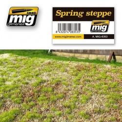 Dioramabodem Spring steppe 230x130mm