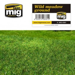 Dioramabodem Wild meadow ground 230x130mm