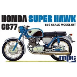 MPC HONDA SUPER HAWK CB77 1/16