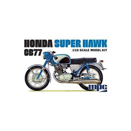 MPC HONDA SUPER HAWK CB77 1/16