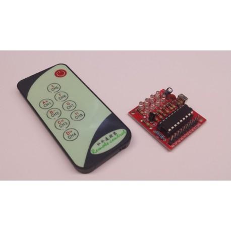 8 kanaal puls afstandsbediening 5V