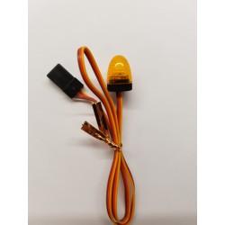 LED zwaailicht ovaal rond 15x10mm 4.8-6V