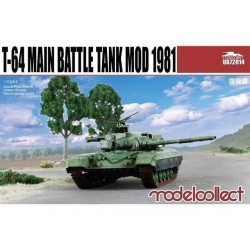 T-64 MAIN BATTLE TANK MOD 1981 1/72