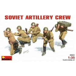 SOVIET ARTILLERY CREW 1/35