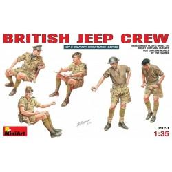 BRITISH JEEP CREW 1/35