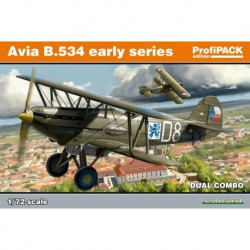 AVIA B.534 EARLY SERIES COMBI PROFIPACK 1/72