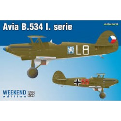 AVIA B.534 L. SERIE WEEKEND EDIT. 1/72
