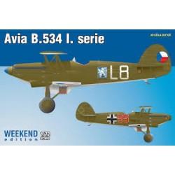 AVIA B.534 L. SERIE WEEKEND EDIT. 1/72