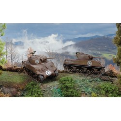 M4A3 75MM SHERMAN (2X MODEL) 1/72