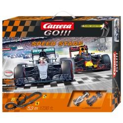 Carrera GO Racebaan met Max Verstappen 5,3mtr.
