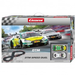 Carrera Evolution racebaan DTM Speed Duel 5,3mtr.
