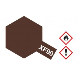 Potje acrylverf red brown 2 XF-90 10cc