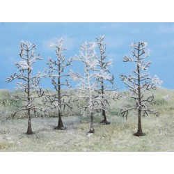 5 stuks winterbomen van 11cm