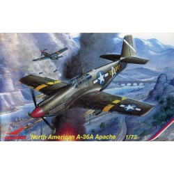 NORTH AMERICAN A-36A APACHE 1/72