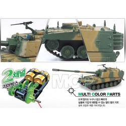 R/C K9 (MULTI COLOR PARTS) MET MOTOREN EXCL. 2XAA 1/48