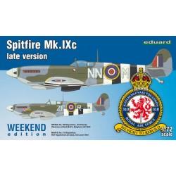 SPITFIRE MK.IXC LATE VERSION  1/72