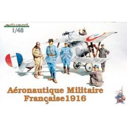FRANSE MILITAIREN 1916 1/48