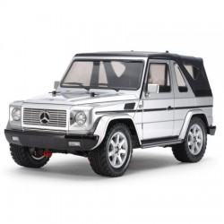 1/10 MF-01X Mercedes-Benz G 320 Cabrio Silver painted Body KIT-VERSIE!