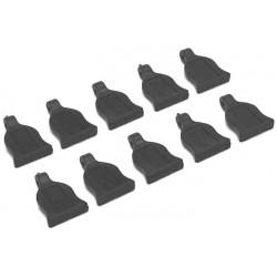 1/10 Body clips tabs black 10st.