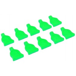 1/10 Body clips tabs green 10st.