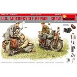 U.S. MOTORCYCLE REPAIR CREW 1/35
