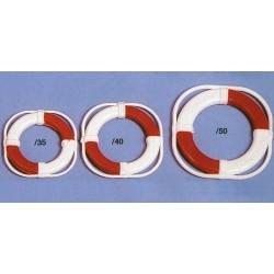 Reddingsboei 35mm wit/rood 2STUKS