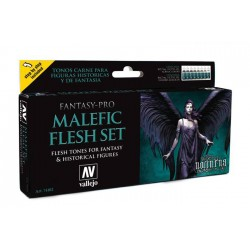Fantasy Malefic Flesh set 8x17ml.