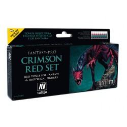 Fantasy Crimson Red set 8x17ml.