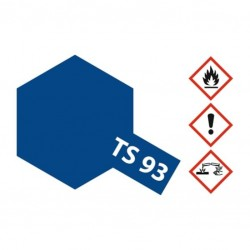 Acryl spuitbus plastics pure blue TS-93 100ml.