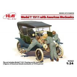 MODEL T 1911 W/AMERICAN MECHANICS 1/24