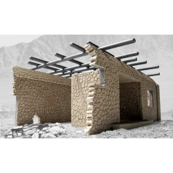 AFGHAN SINGLE STOREY HOUSE 1/48