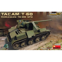 ROMANIAN TACAM T-60 76MM SPG 1/35