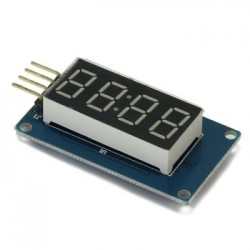 Arduino 4 digit rood display ser.best.