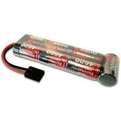 8.4V NiMh 4600mAh stickpack traxxas plug