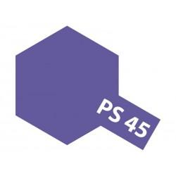 Polycarb spuitbus translucent purple PS-45 100ml.