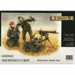 GERMAN MACHINEGUN CREW, KURLAND 1944 1/35
