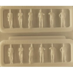 12x figuurtjes 1/200 H-9mm