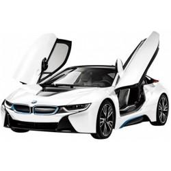 BMW I8 1/14 silver L-32cm v/a 9jr
