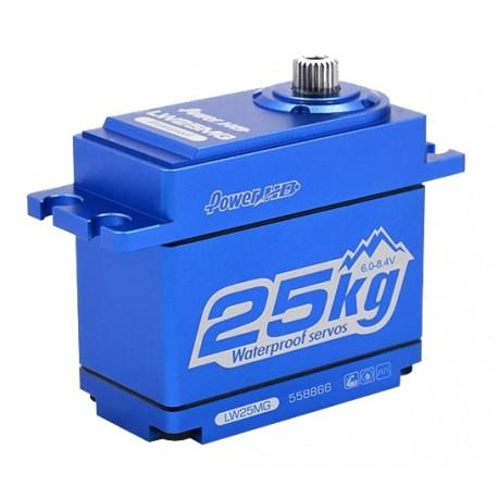 Dig. std. servo 25KG 0.14s/60 40.7x20.5x38.6mm WATERPROOF