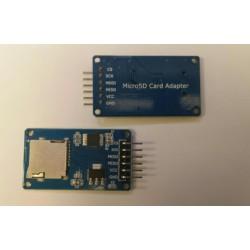 Arduino micro SD kaartlezer