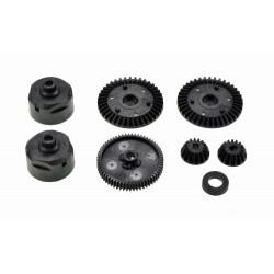 Tamiya 51004 Gear set TT-01 (G-parts)