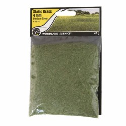 Static Grass, medium Green 4mm 42gram