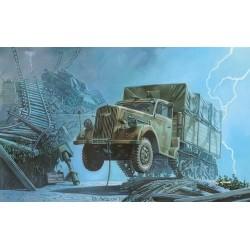 OPEL MAULTIER WWII GERMAN TRUCK 1/72