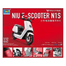 NIU E-SCOOTER N1S PRE-PAINTED 1/12 L-14,8CM