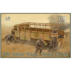 3RO ITALIIAN TRUCK - TROOP CARRIER 1/35