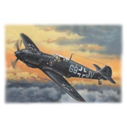 WWII GERMAN NIGHT FIGHTER BF 109E-4 1/72