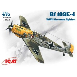 WWII GERMAN FIGHTER BF 109E-4 1/72