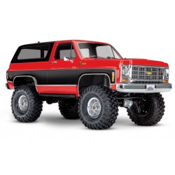 Traxxas TRX-82076-4R TRX-4 Chevrolet K5 Blazer RED (no batt/chg)