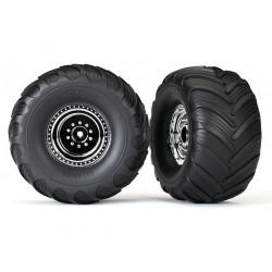 Traxxas TRX3665X 1/10 Terra groove dual profile tire 2st
