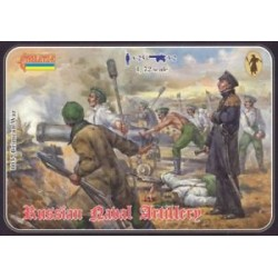 CRIMEAN WAR RUSS NAVAL ART. 1/72